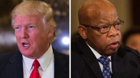 Donald Trump responds John Lewis nr_00000000