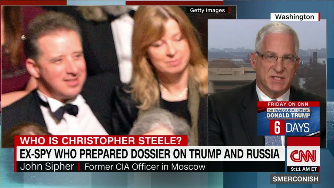Spy behind Trump dossier says info was never meant for public eyes