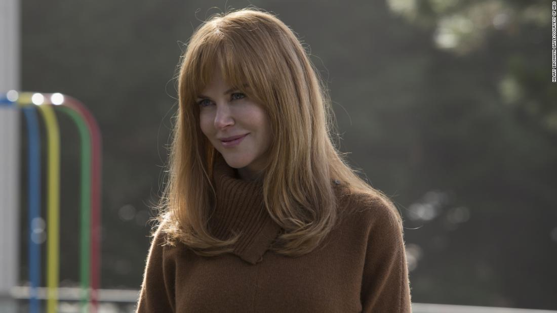 "<strong>Best actress in a miniseries or television film:</strong> Nicole Kidman, ""Big Little Lies"""