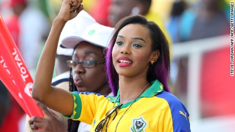 Africa Cup of Nations: Party atmosphere as tournament kicks off