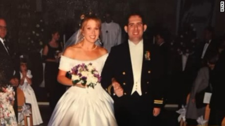 Scott and Cindy Chafian on their wedding day