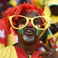 AFCON Togo supporter