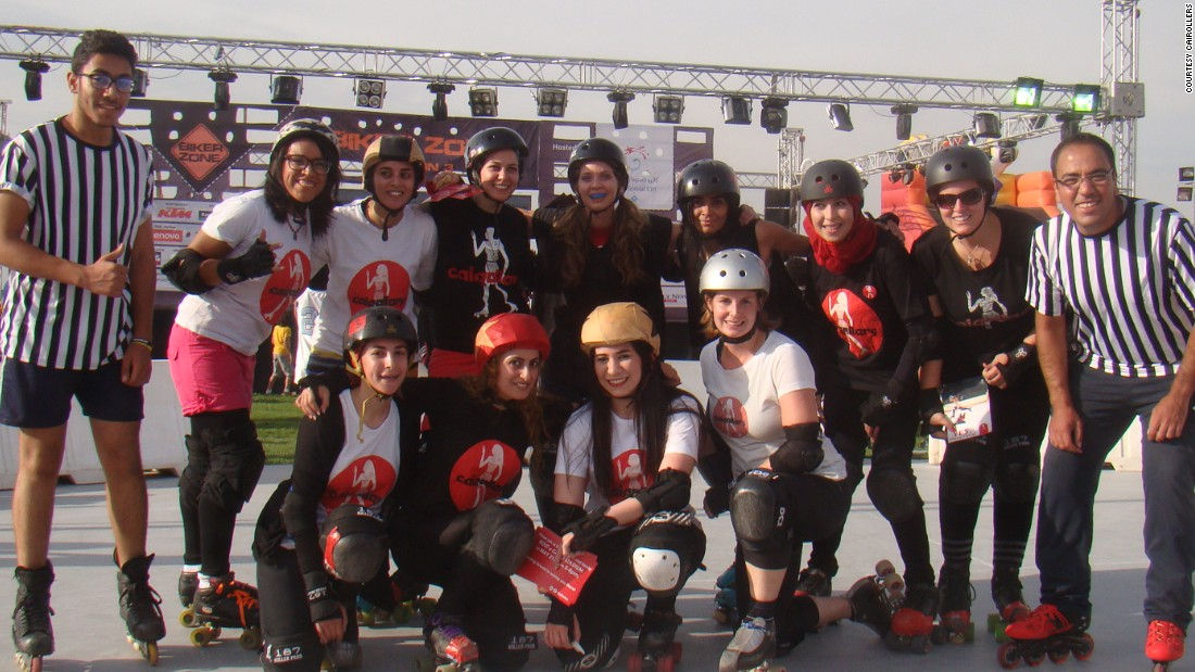 Roller derby first took off as a competitive sport in the United States in the 1930s. Since its 2001 revival on a flat, rather than oval track, roller derby has been experiencing something of a resurgence globally, and even more so in the unlikeliest of capitals - Shanghai, Beijing, Johannesburg, Dubai, Seoul and Daegu in South Korea - all boast teams.<br /><br />Pictured: A few of CaiRoller's 25 strong team prior to practice.