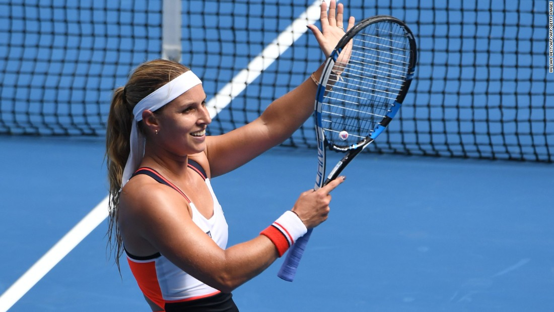 A finalist from 2014, Dominika Cibulkova beat Denisa Allertova of the Czech Republic 7-5 6-2.