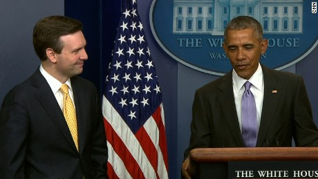 Obama final briefing Earnest