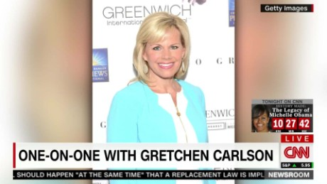 "Gretchen Carlson: ""For god's sake, stand up for yourself"""