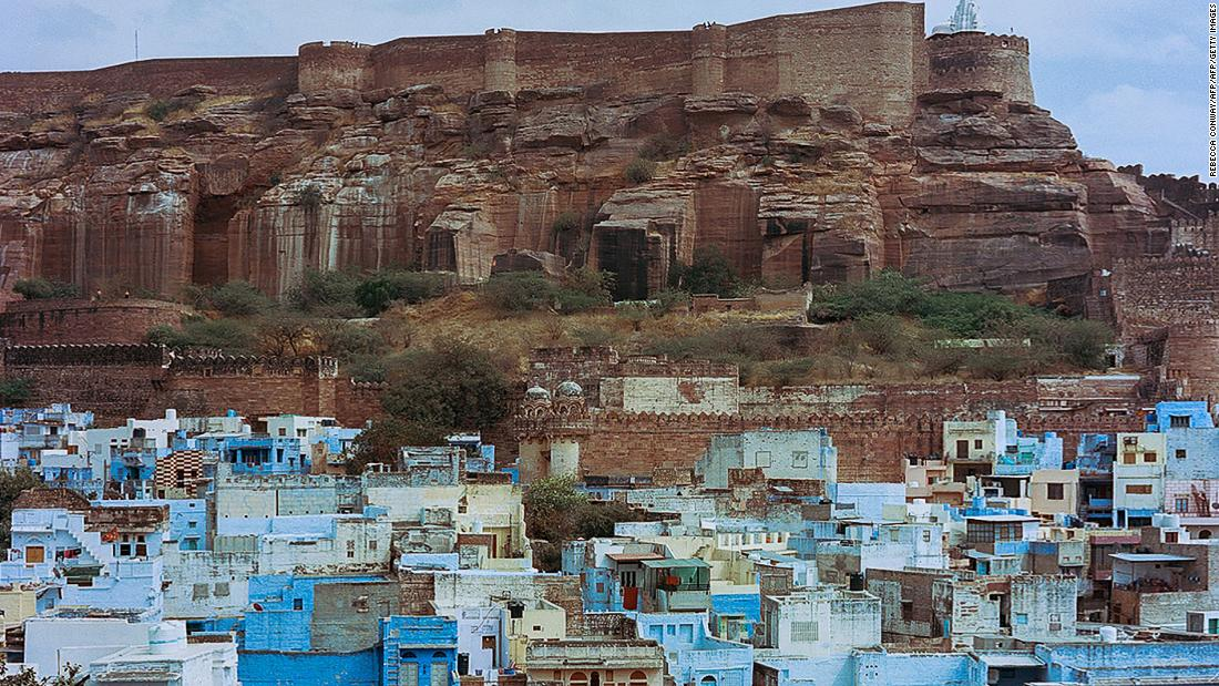 <strong>Jodhpur, Rajasthan: </strong>Jodhpur's blue houses and the magnificent Mehrangarh Fort (in the backdrop) make Rajasthan's Blue City one of the most Instagrammable places in India.