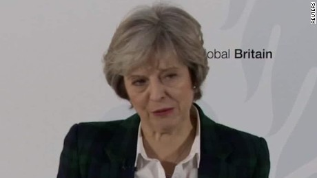 British Prime Minister lays out Brexit plan