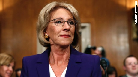 DeVos: 'Yes,' Trump's leaked tape comments amount to sexual assault