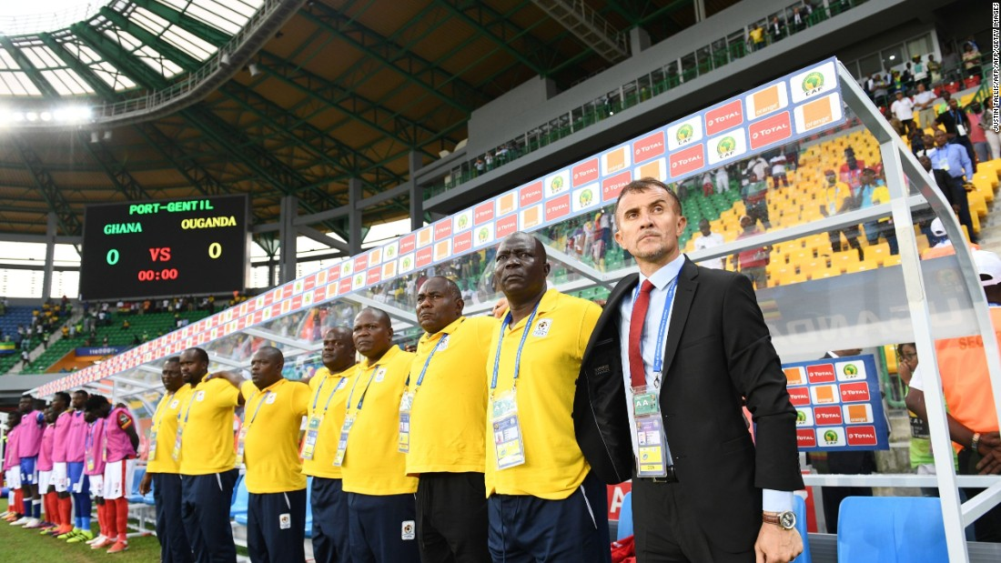Under the guidance of Serbian coach Milutin Sredojevic (R) and his staff, these players have already made history but got their AFCON 2017 campaign underway with a 1-0 defeat to powerhouse Ghana.