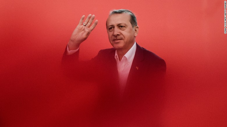 Turkish President declares victory