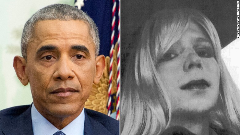 Obama commutes sentence of Manning