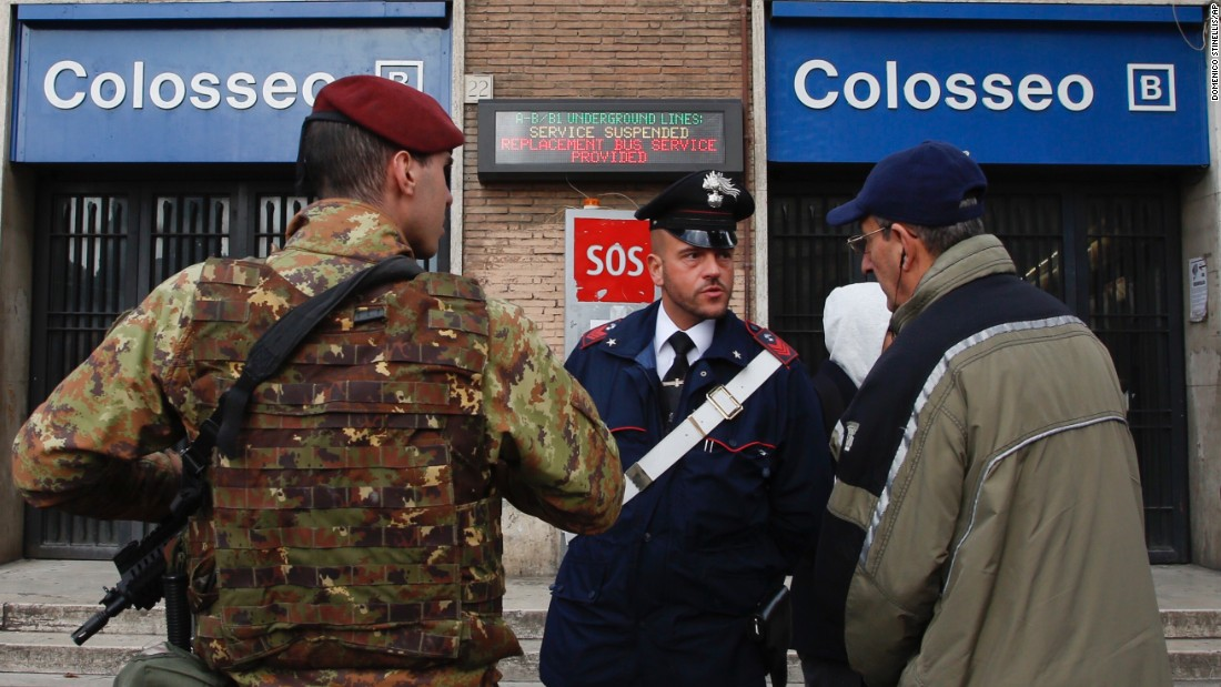 Rome's subway evacuated as powerful earthquakes rock Italy