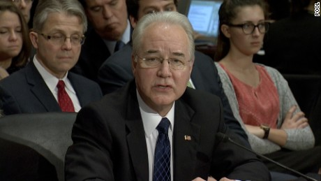 Nomination of Tom Price to serve as Secretary of Health and Human Services  Date:?Wednesday, January 18, 2017Add to my Calendar  Time:?10:00 AM  Location:?430 Dirksen Senate Office Building  Witnesses  Panel I  Dr.?Tom Price  Roswell?, GA   MANU AND LAURIE WILL STAKEOUT OUTSIDE WITH THEIR PJ