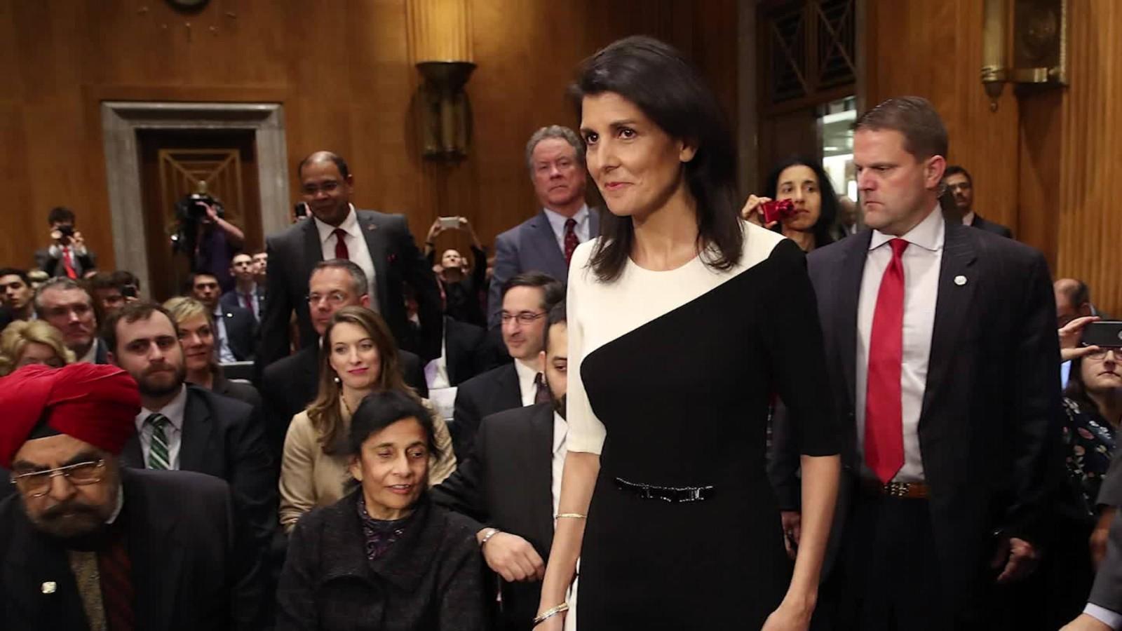 Nikki Haley easily confirmed as UN ambassador - CNNPolitics