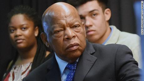 John Lewis channels Trump feud energy into Obamacare fight