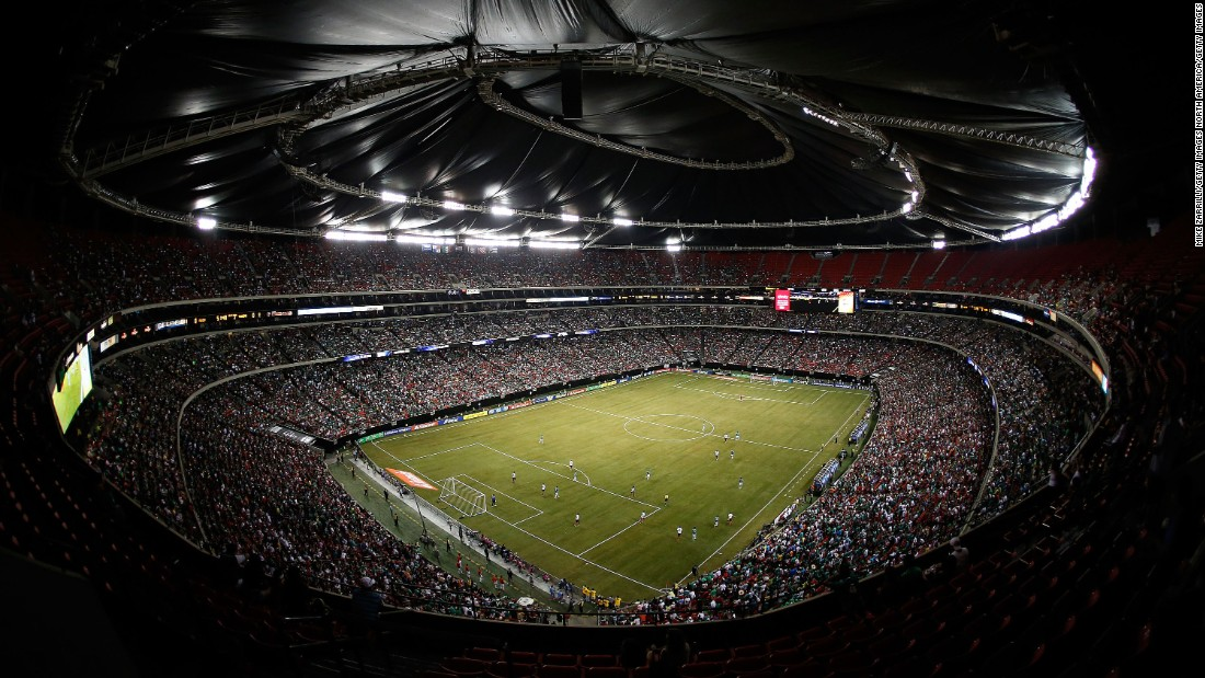 The Georgia Dome hosted several soccer matches, including the CONCACAF Gold Cup quarterfinal game between Mexico and Trinidad & Tobago on July 20, 2013.