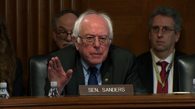 Sanders, Perry spar over climate change