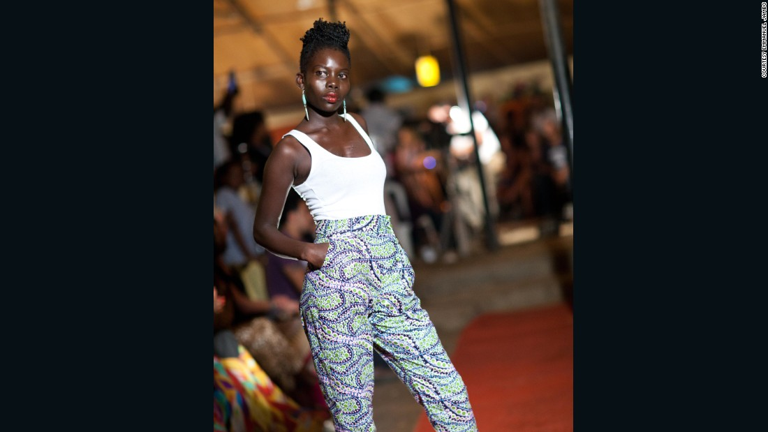 The fashion show is the climax of the festival. The show features works by local and regional designers, worn by world renown models like Manuela Modong and Atong DeMach.