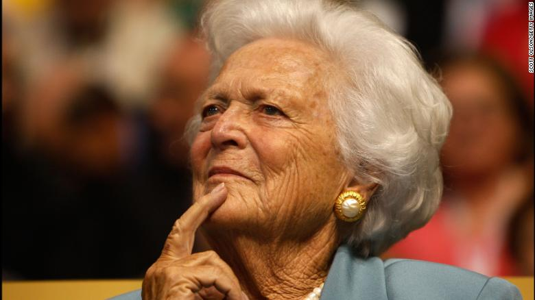 Service for Barbara Bush at St. Martin's Episcopal Church in Houston, Texas