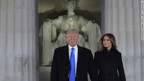 Trump becomes 45th President of the United States