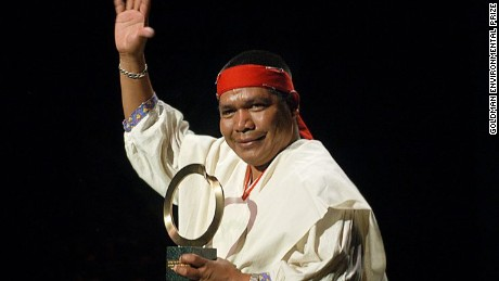 Activist Isidro Baldenegro López was the leader of Mexico's indigenous Tarahumara people.