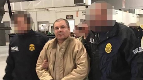 'El Chapo' Guzman back behind bars in New York