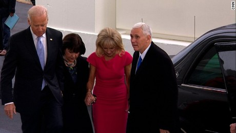 bidens pence wh inauguration day