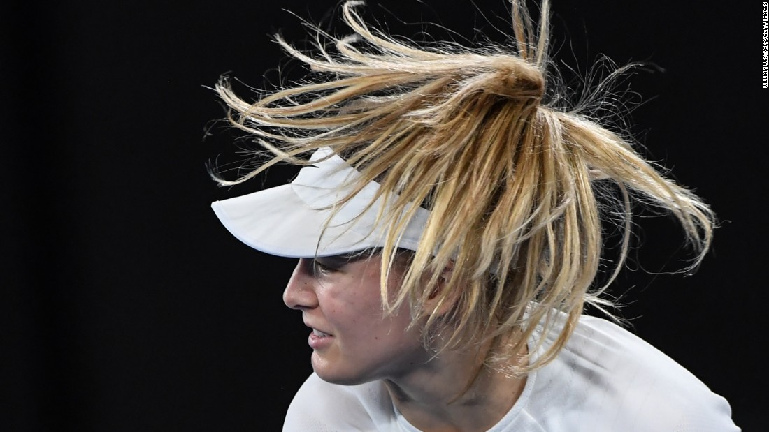 "Speaking after her second-round win, Canada's Eugenie Bouchard detailed her attempts to break the <a href=""http://edition.cnn.com/2017/01/19/tennis/australian-open-eugenie-bouchard-tennis/index.html"" target=""_blank"">""vicious cycle"" that saw her lose form and confidence</a>, but she couldn't make the last 16 after losing 6-4 3-6 7-5 to America's Coco Vandeweghe."