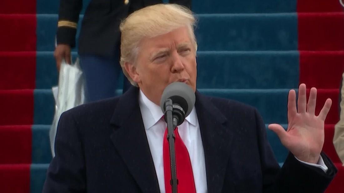 Inaugural address: Trump's full speech