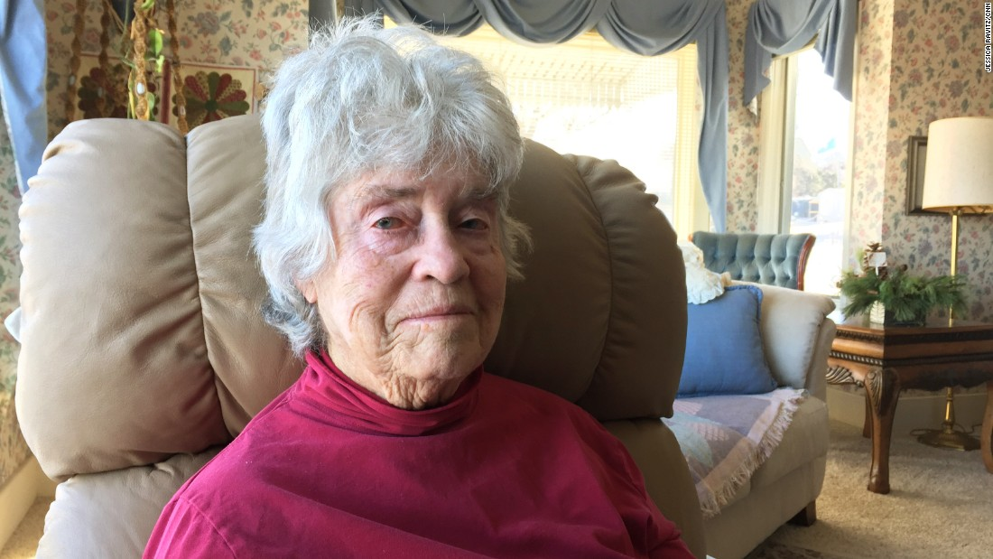 Merla Hebbert, 85, was born into a family that has ranched in Grant County ever since her granddad settled here. As a little girl, she rode her favorite horse, Rat, to school by herself -- as far as 8 miles each way.