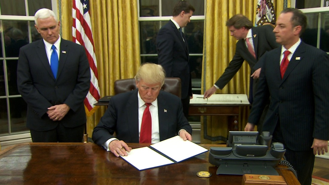 Full text: Trump's executive order on Obamacare