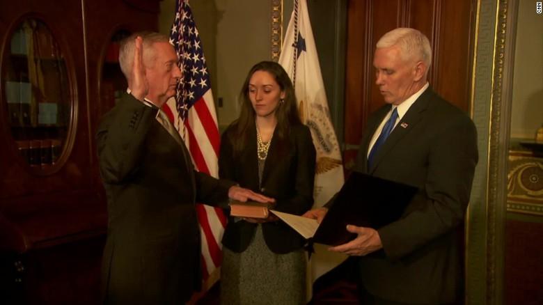 Senate confirms Trump's first two Cabinet members - CNNPolitics