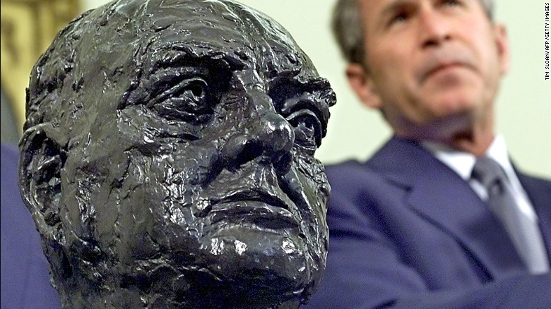 The case of the White House bust of Winston Churchill