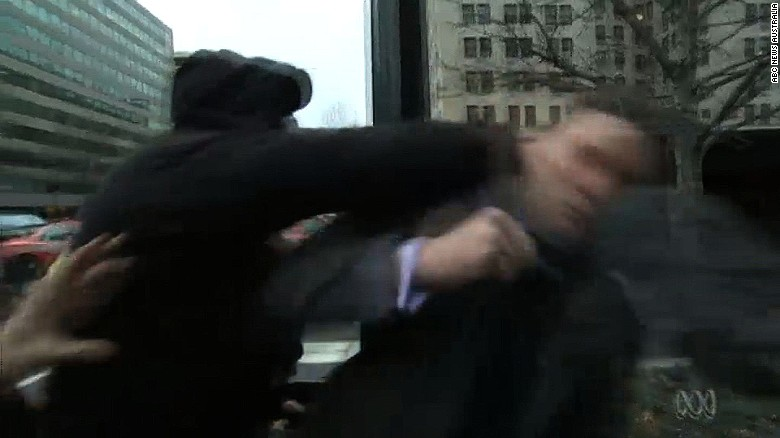 Alt-right leader punched during interview