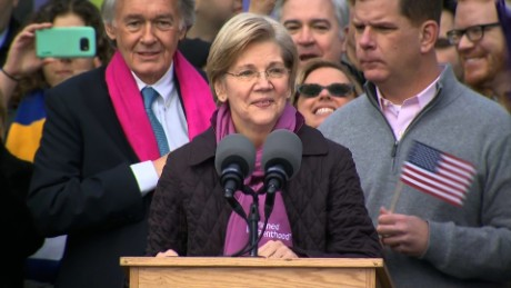 Elizabeth Warren: We're here to fight back