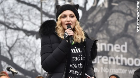 Trump calls Madonna 'disgusting'