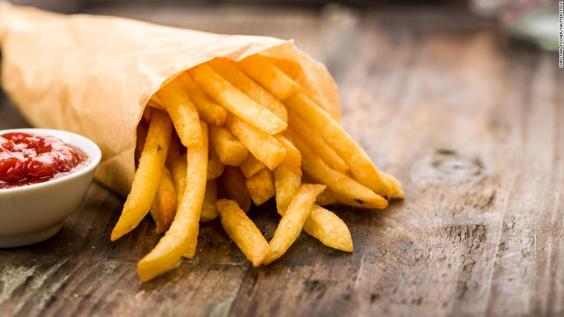 French fries also produce acrylamide as they are fried at high temperatures. Temperatures above 120 degrees Celsius (248 degrees Fahrenheit), are required for the compound to be produced.