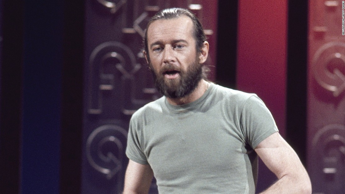 "George Carlin went from performing as a mild-mannered stand-up comic to a shaggy-haired, bearded social critic who also happened to be damn funny. It was Carlin, of course, who gave us the ""seven dirty words you can never say on television,"" and whose obscenity-filled comedy prompted the Supreme Court to allow broadcasters to censor offensive material."