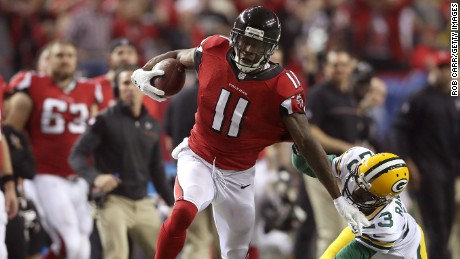 Atlanta Falcons superstar WR Julio Jones keeps a low profile