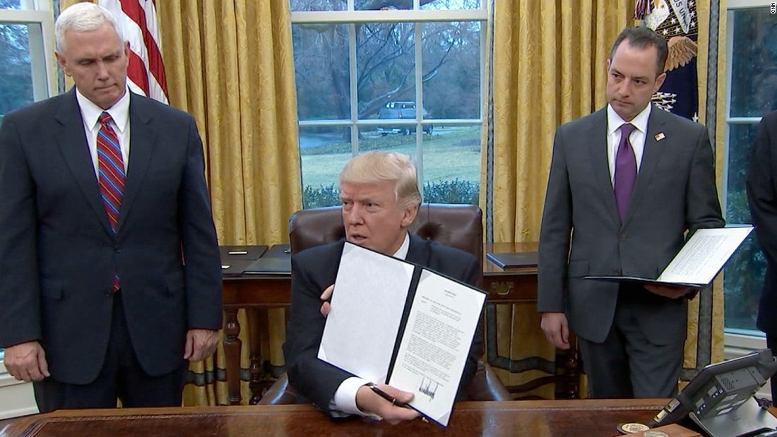How And Why Trump S First Formal Policy Action Actually