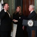 pompeo swearing in