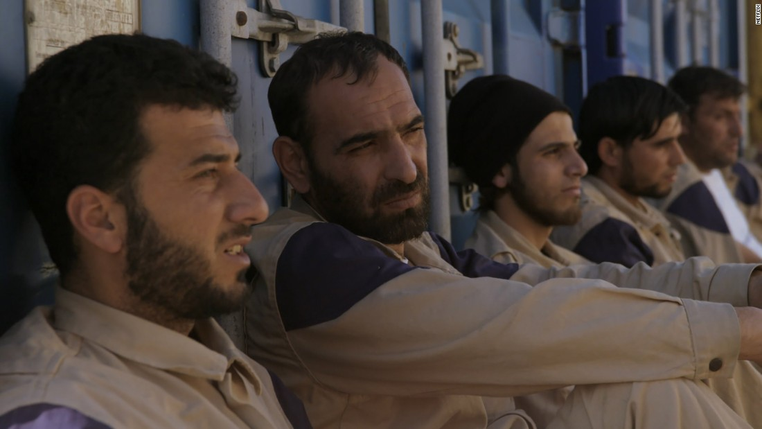 "<strong>Best documentary (short subject): </strong>""The White Helmets,"" pictured; ""Extremis""; ""4.1 Miles""; ""Joe's Violin""; and ""Watani: My Homeland."""