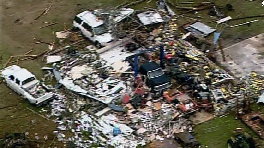 Albany, 180 miles south of Atlanta, was one of a number of communities in the area slammed by tornadoes.
