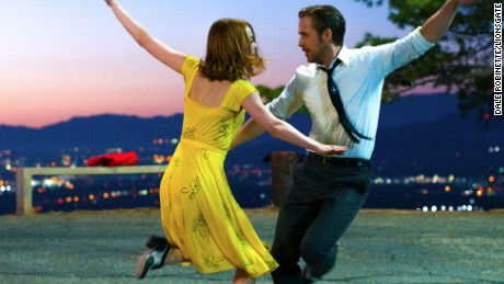Ryan Gosling and Emma Stone in 'La La Land'