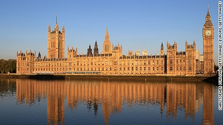 The Houses of Parliament, London