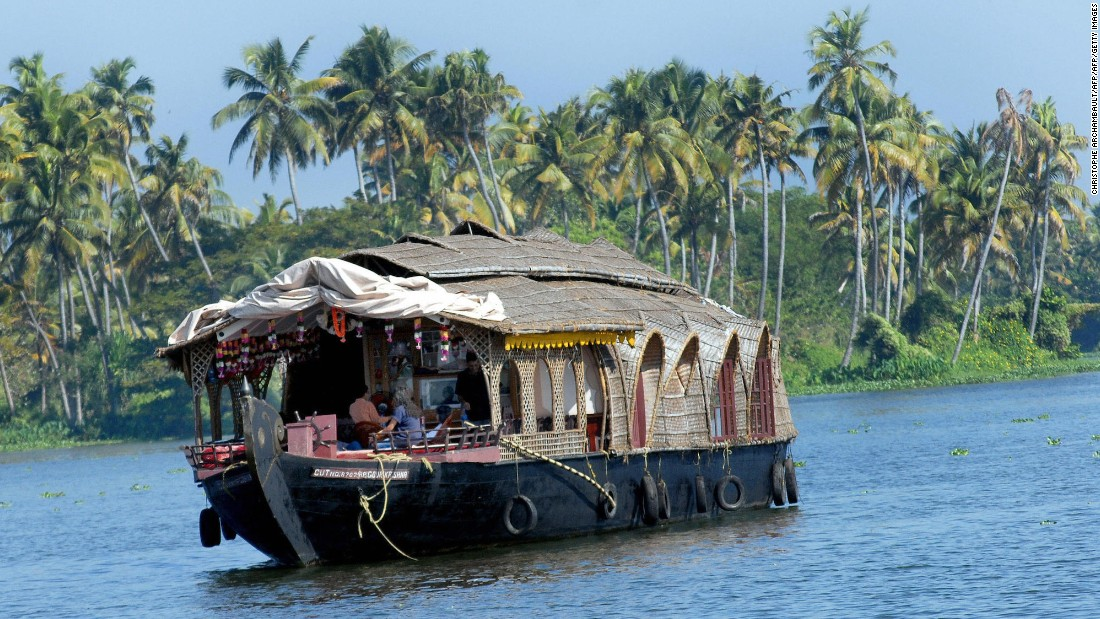 "<strong>Kerala backwaters, Kerala:</strong> The Kerala backwaters are made up of lakes, canals and rivers that stretch down the coast. Traditional houseboats are a great way to take in the local way of life. <a href=""http://edition.cnn.com/2014/06/17/travel/kerala-backwaters-india/"">READ: How to experience the beautiful backwaters of Kerala, India</a><br />"