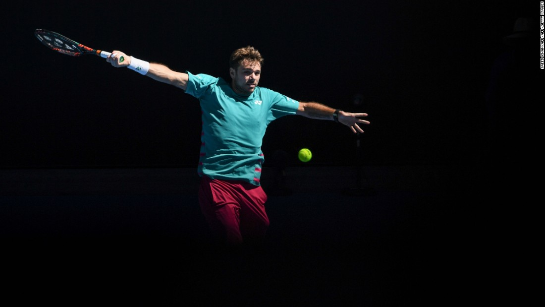 But first Federer must overcome compatriot and three-time grand slam champion Stan Wawrinka in the semifinals for a shot at winning a fifth Australian Open title.