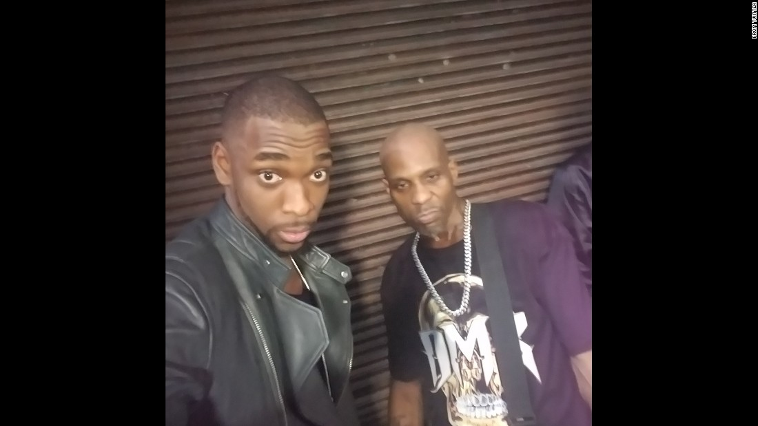 "Comedian Jay Pharoah snaps a selfie with rapper DMX on Friday, January 13. ""No need for a caption just know..THIS S--- WAS EPIC,"" <a href=""https://twitter.com/JayPharoah/status/819915756812939264"" target=""_blank"">Pharoah tweeted.</a>"