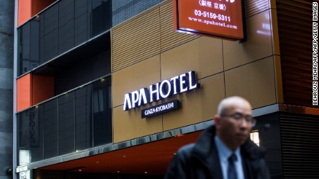 China has called for a boycott of APA hotels after the chain's CEO denied the Nanjing Massacre took place.